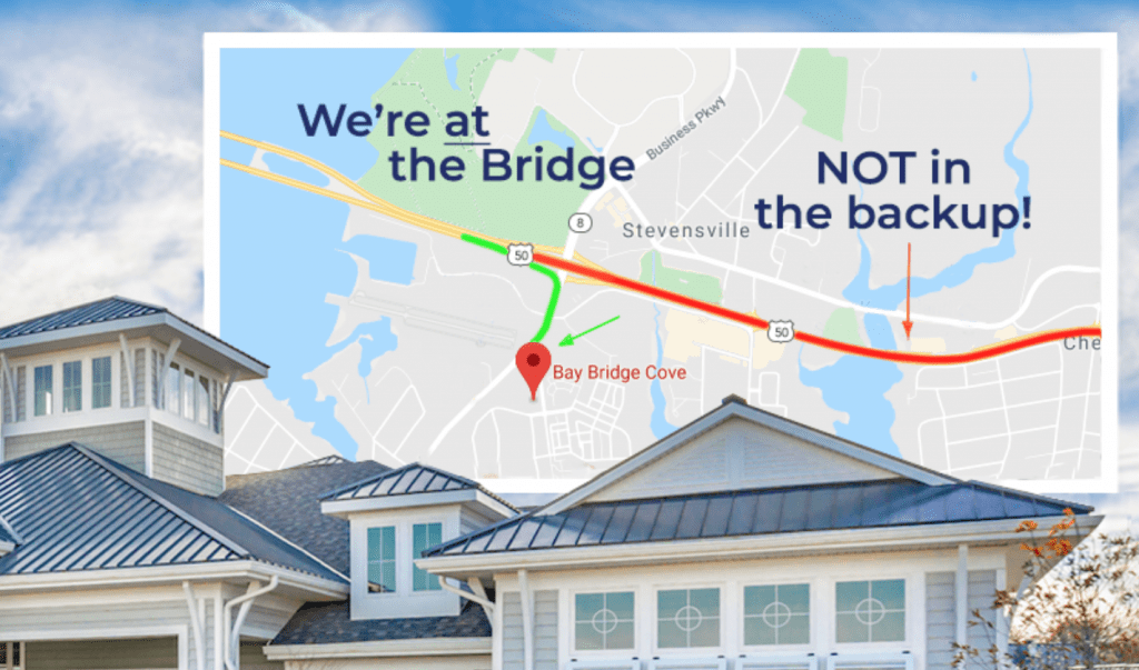 Bay Bridge Cove Location In Accordance to Bridge